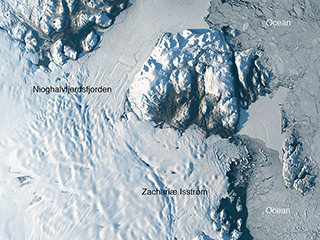 In Greenland, another major glacier comes undone