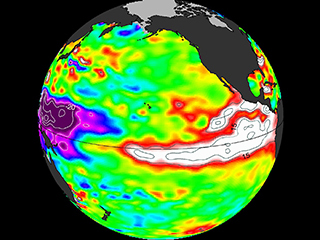 A still-growing El Niño set to bear down on U.S.