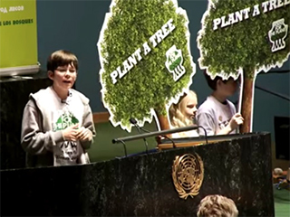 Nine-year-old boy plants seed that yields 3 trillion trees