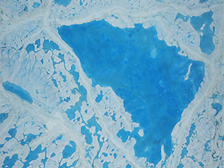 Science flights target melting Arctic sea ice