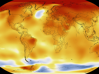 NASA, NOAA to announce 2017 global temperatures, climate conditions