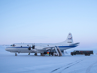 NASA begins latest airborne Arctic ice survey