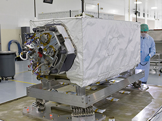 NASA's new space 'botanist' arrives at launch site