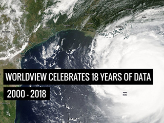 Two decades of Earth data