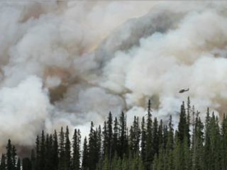 Studying weather to help see the likelihood of fires