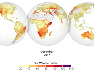 Can NASA help predict fires? New database includes fire danger forecasts