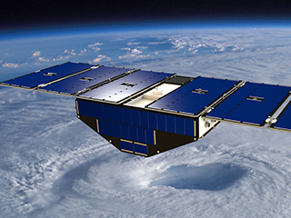 Flood detection is a surprising capability of microsatellites mission