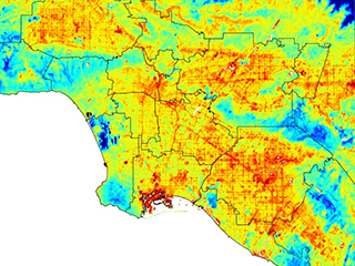 ECOSTRESS maps LA's hot spots
