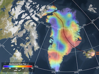 Fire below, ice above: volcanoes, glaciers and sea level rise