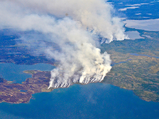 NASA Studies How Arctic Wildfires Change the World