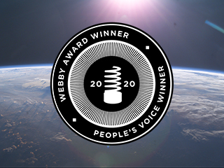 NASA Wins 4 Webbys, 4 People's Voice Awards