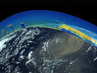 NASA, CNES Space Laser Measures Massive Saharan Dust Plume