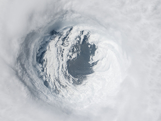 Prior Weather Linked to Rapid Intensification of Hurricanes Near Landfall
