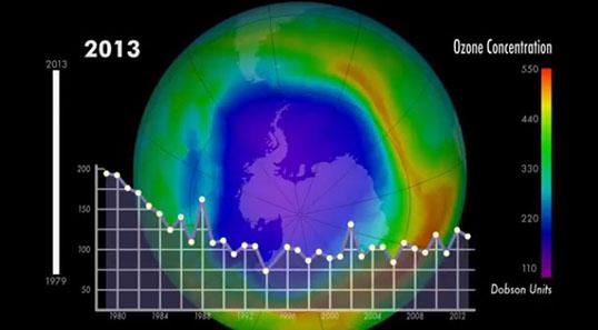 International action against ozone depleting substances ...