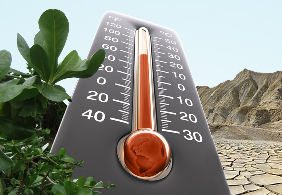 The ups and downs of global warming – Climate Change: Vital Signs of the Planet