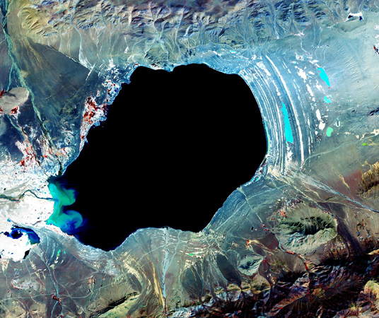 Courtesy of NASA/Goddard Space Flight Center, Japan's Ministry of Economy, Trade and Industry, Japan's Earth Remote Sensing Data Analysis Center, the Japan Resources Observation System, and the U.S./Japan ASTER Science Team.