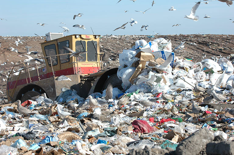 Taking out our trash – Climate Change: Vital Signs of the Planet