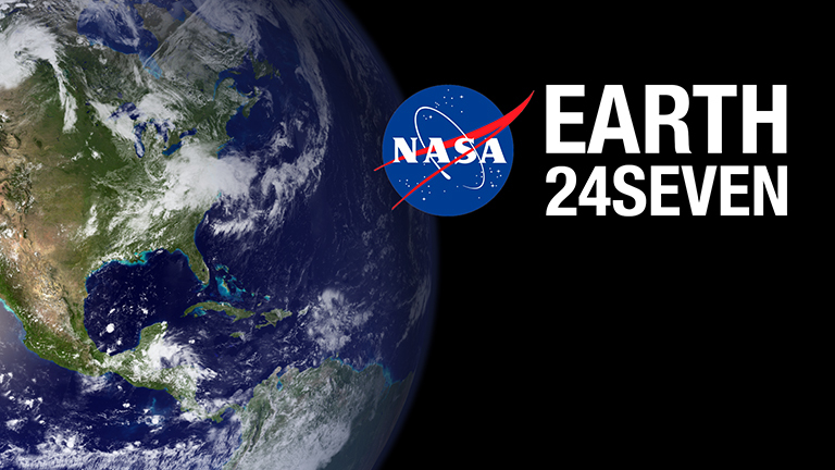Join NASA for a #24Seven celebration of Earth Day