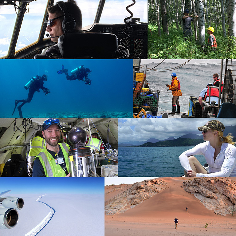 Three new NASA field research campaigns get underway around the world this year and nine continue fieldwork to give scientists a deeper understanding of how our home planet works. Credit: NASA.