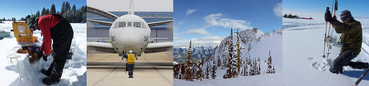 In February 2017, NASA begins the SnowEx field campaign in Colorado to advance new remote-sensing techniques to measure the amount of water held in snow. Credit: U.S. Forest Service, Naval Research.