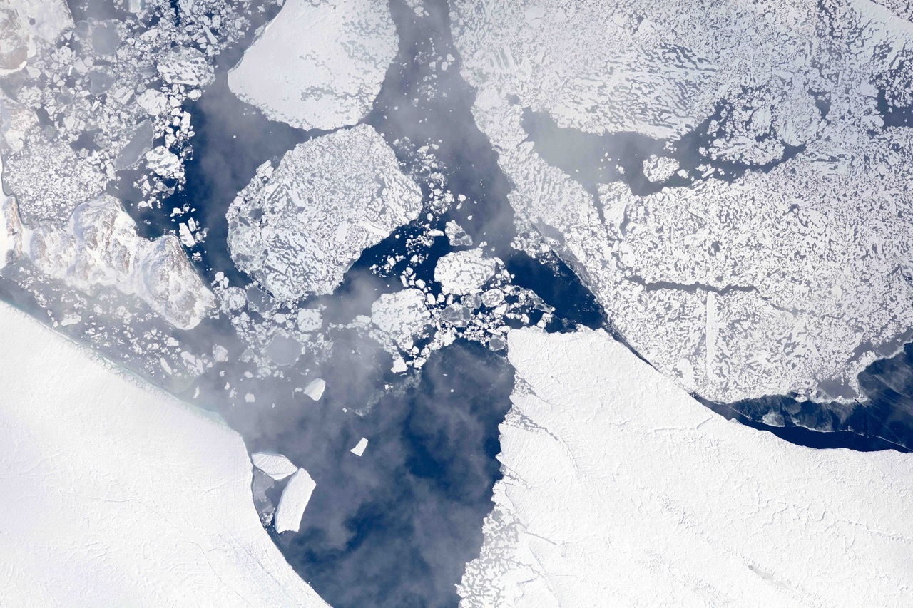 Climate Change Vital Signs Of The Planet NASA Flights Map Summer - Us gove ice map