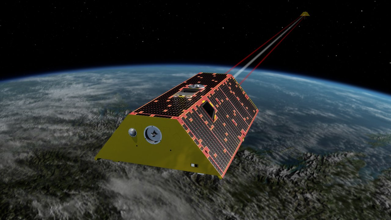 The Gravity Recovery and Climate Experiment Follow-On (GRACE-FO) mission will measure monthly changes in how mass is redistributed within and among Earth's atmosphere, oceans, land and ice sheets, as well as within Earth itself. The twin GRACE-FO spacecraft are scheduled to launch May 19, 2018, from Vandenberg Air Force Base in California. Credit: NASA