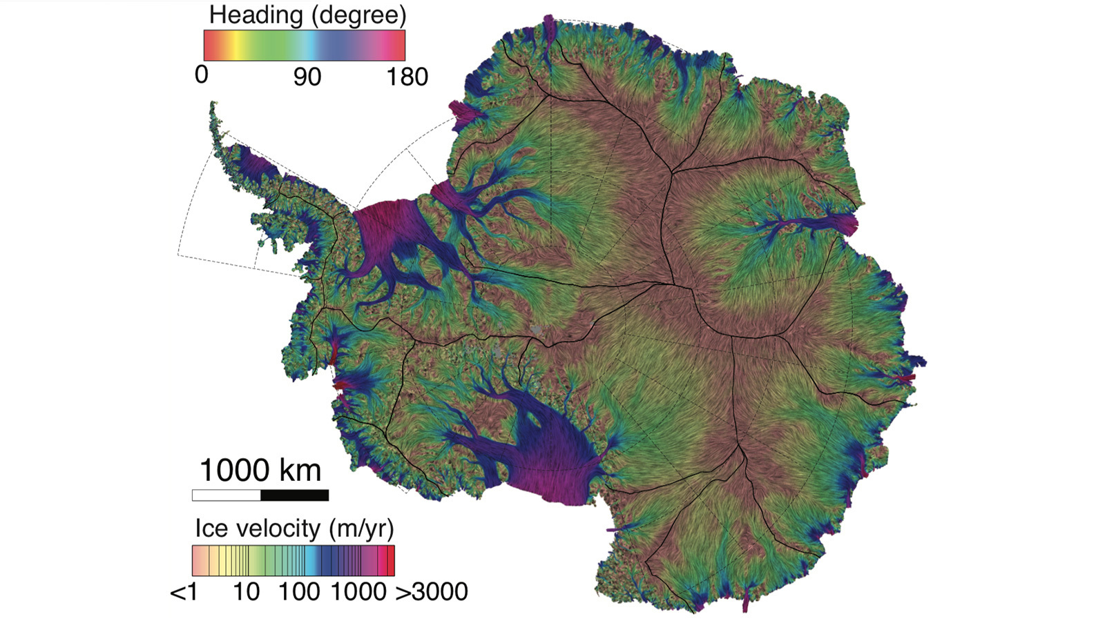 Flowing Antarctic Ice Mapped 10 Times More Accurately ...