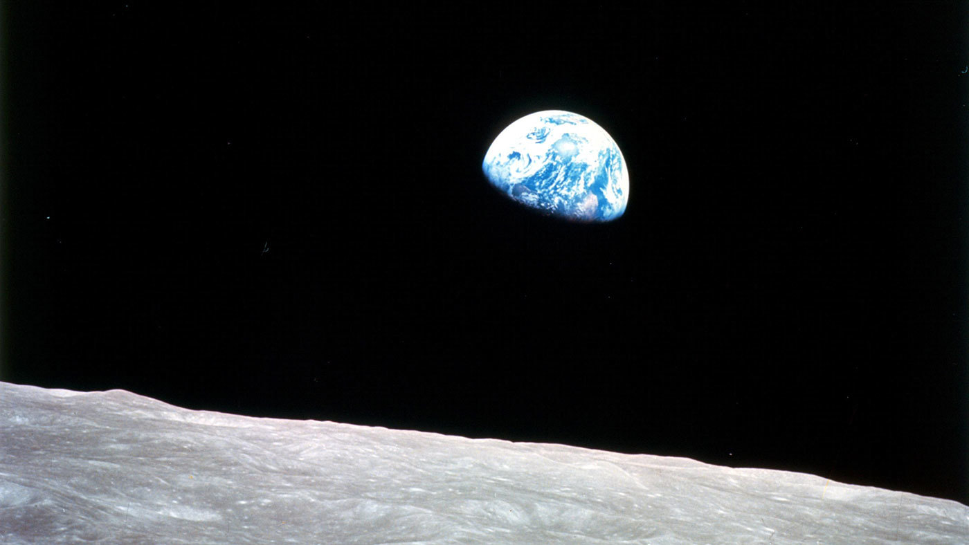 Earthrise by Apollo 8 astronaut William Anders, December 1968
