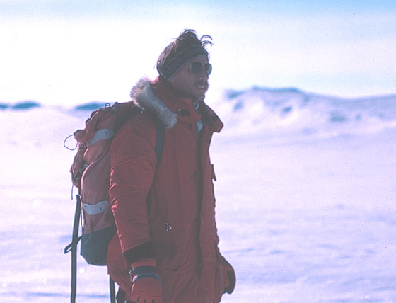 Dr. Robert Bindschadler, Antarctic ice sheet expert.
