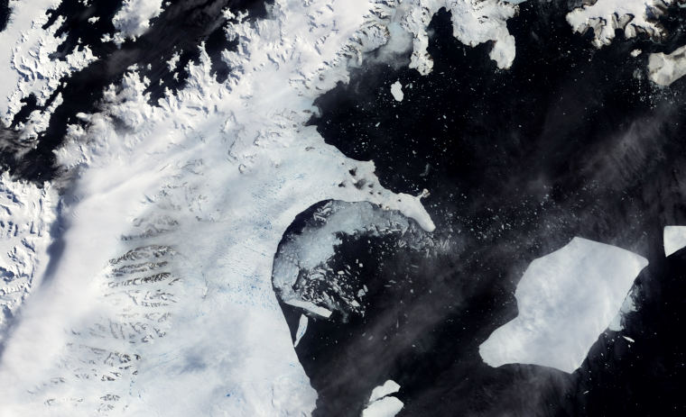 The Larsen B ice shelf began disintegrating around Jan. 31, 2002. Its eventual collapse into the Weddell Sea remains the largest in a series of Larsen ice shelf losses in recent decades, and a team of international scientists has now documented the continued glacier ice loss in the years following the dramatic event.