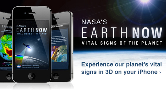 NASA's 'Earth Now' App – Climate Change: Vital Signs of the