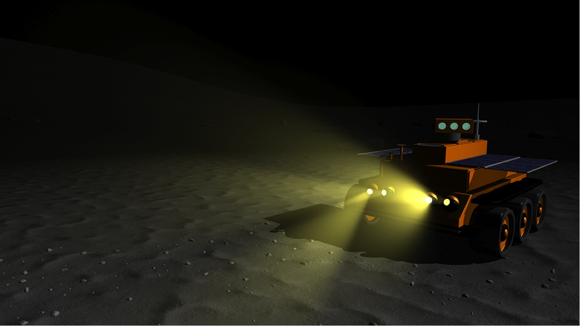 Future lunar missions will require rovers that can work through the two-week lunar night.