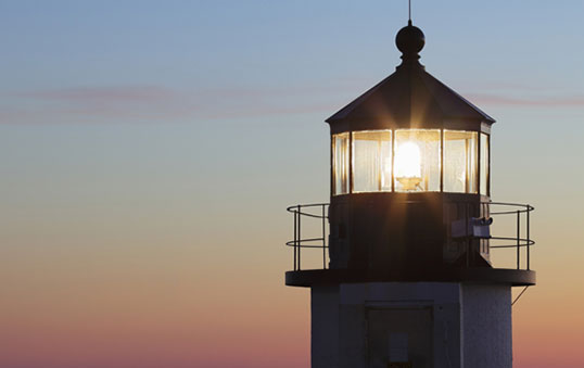 Lens technology that was developed to make lighthouses brighter in the 19th century is now being applied to increase the efficiency of solar cells, which convert sunlight into electricity.