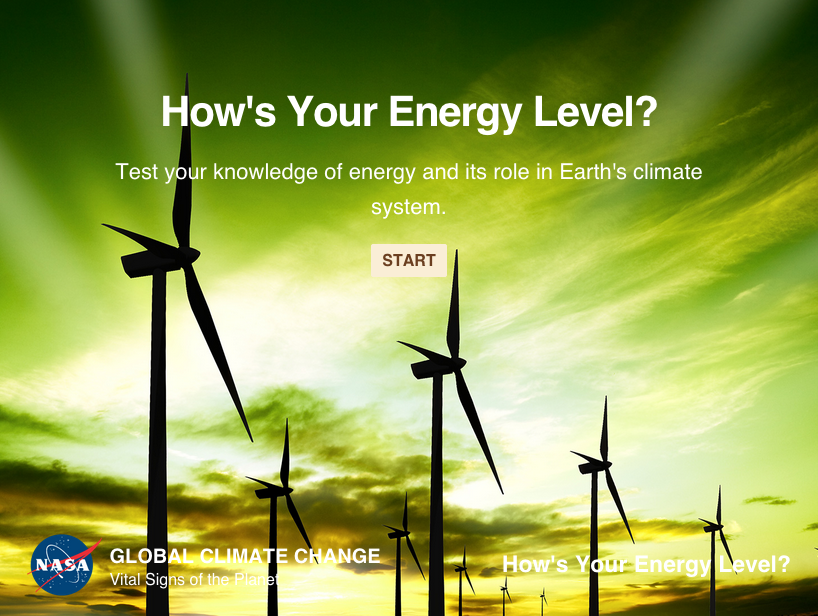 Test your knowledge of energy and its role in our climate.