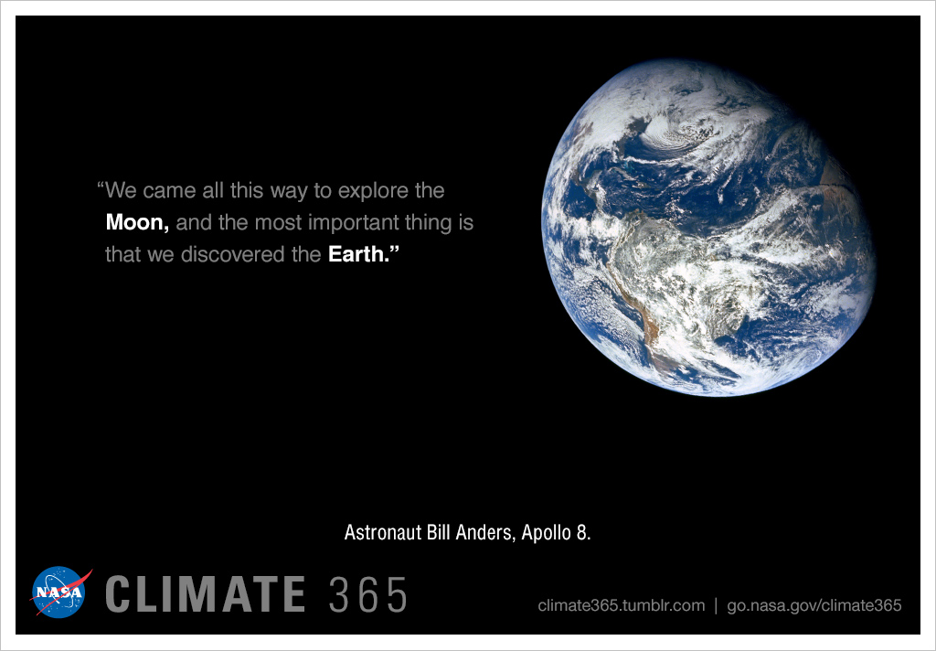 Earth discovered - Climate 365 graphic