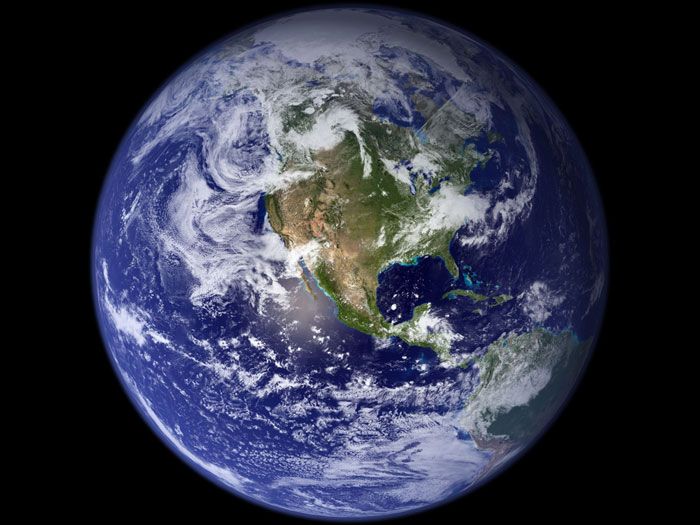 Blue marble – Climate Change: Vital Signs of the Planet