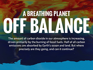Infographic: Earth's carbon cycle is off balance