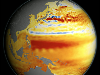 Video: 22-year sea level rise